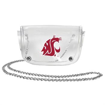 Washington State Cougars Clear Waistpack