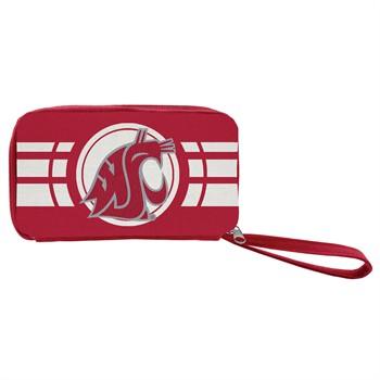 Washington State Cougars Ripple Zip Wallet