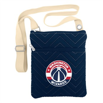 Washington Wizards Chevron Stitch Crossbody Bag