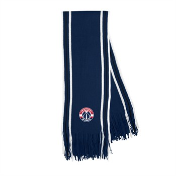 Washington Wizards Stripe Fringe Scarf