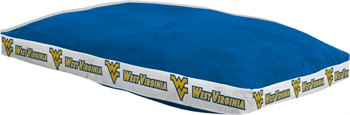 "West Virginia Mountaineers 26"" x 37"" Dog Bed"