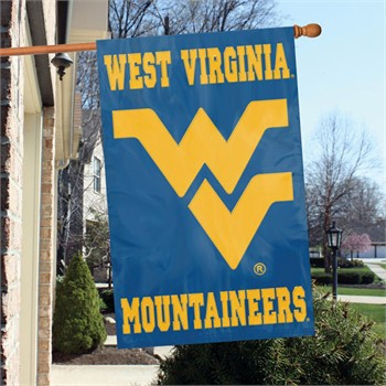 the animal west virginia mountaineers ncaa embroidered appliqu 233 college flag banner