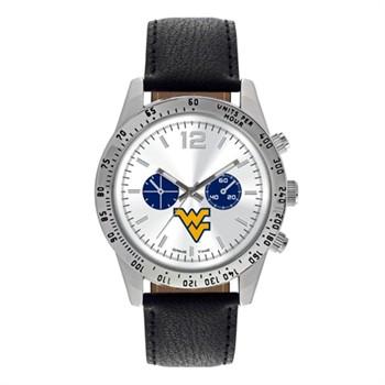 West Virginia Mountaineers Men's Letterman Watch