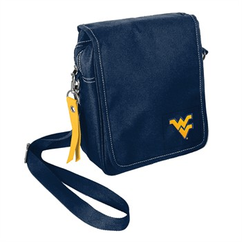 West Virginia Mountaineers Ribbon Satchel