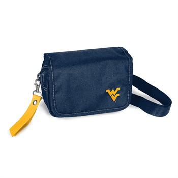 West Virginia Mountaineers Ribbon Waist Pack Purse