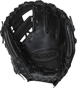 "Wilson A2000 1788 11.25"" Infield Baseball Glove - Black - Right Hand Throw"