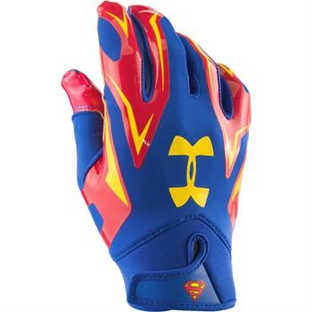 superman football gloves